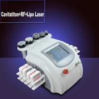 Wholesale Cavitation Lipolaser - Most Effectice Lipolaser Diode lipo laser machine vacuum ultrasonic cavitation rf slimming equipment