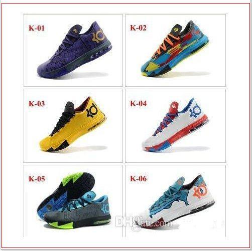 Kevin Durant VI KD 6 Mens Basketball Shoes Sports Shoe KD VI ...