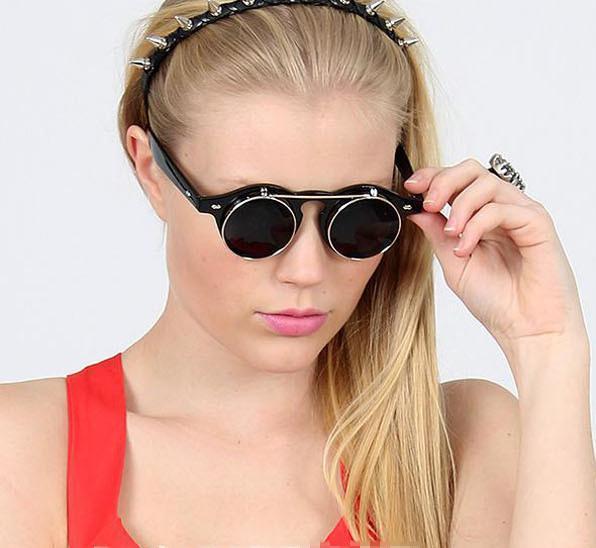 Лучший Продавец 2013 новый стиль Женщины / мужчины зеркало солнцезащитные очки ретро солнцезащитные очки зеркало очки Бесплатная доставка