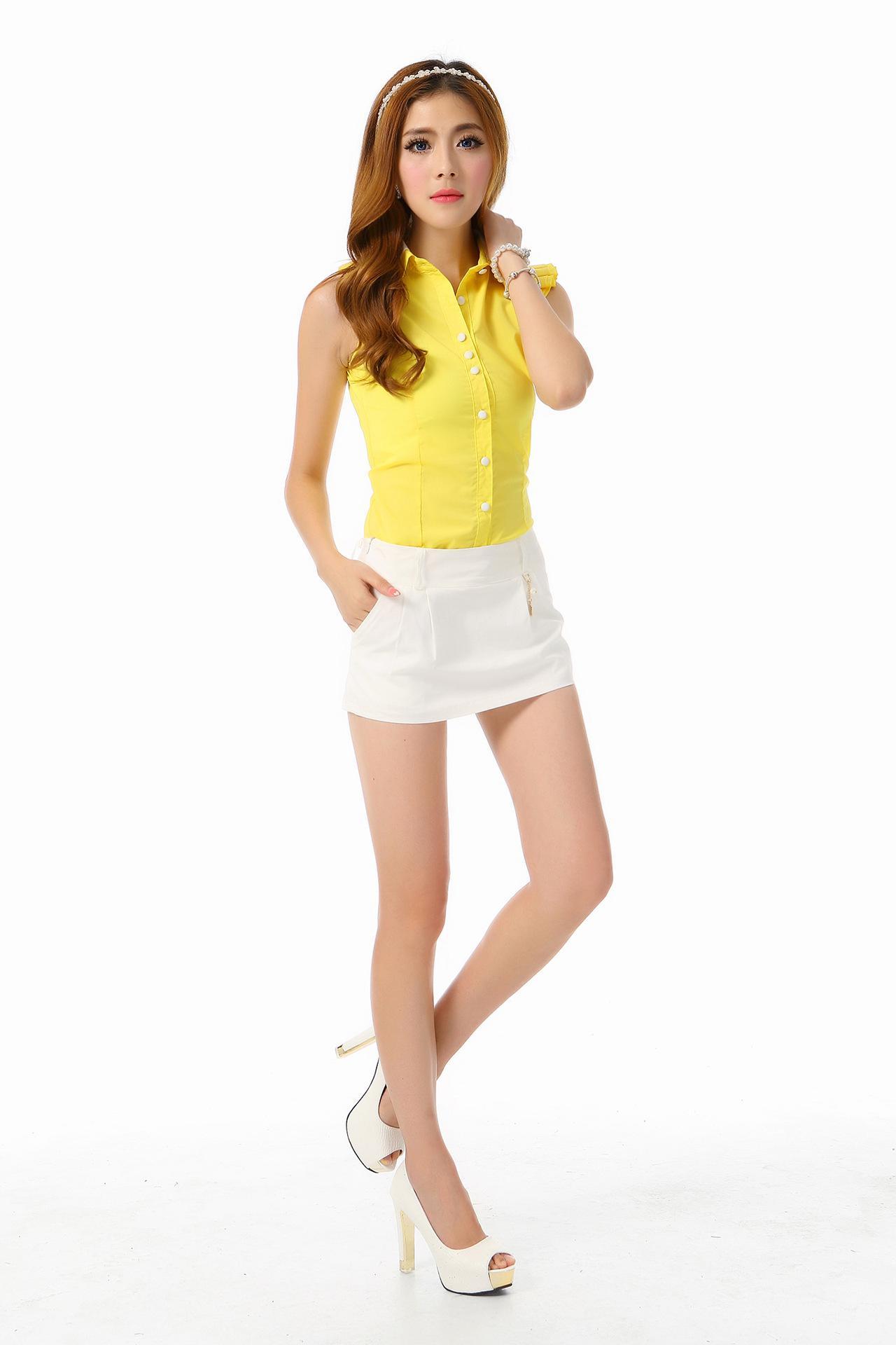2017 Fashion Women Sweet Short Skirt Under Safety Pleated Pants ...