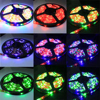 Wholesale Free Horse Racing - Free shipping DC12V SMD 3528 Magic Color RGB Horse Running Strip Horse Race 60LEDs M LED strips Waterproof IP65 + IR Remote Controller 100M