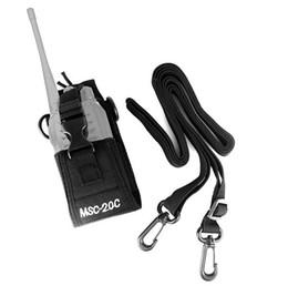 holder radio 2019 - New XQF MSC-20C Multi-function Radio Case Holder for H777 BF-666S 777S 888S Kenwood Yaesu Icom GP388+328 cheap holder ra