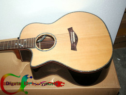 Wholesale Acoustic Left Handed - Left Handed Guitar Custom 916CE Electric Acoustic Guitar Natural Wholesale Guitar From China Free Shipping