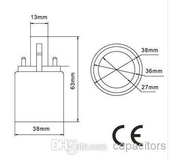 G23 till E27 Socket Adapter CFL G23 till E27 glödlampa omvandlare