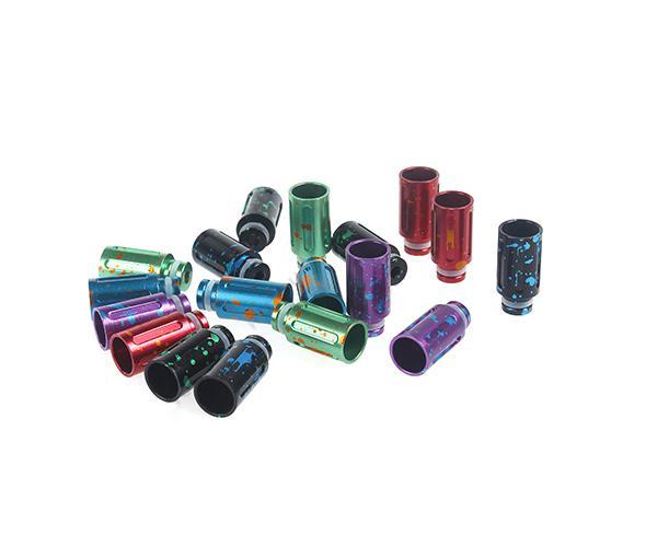 Sıcak Satış Splash Stil Damla İpuçları Tüp Damla İpuçları Alüminyum Geniş Çap Damla İpucu için CE4 Vivi Nova EGO T EGO W 510 EGO Atomizer E Sigaralar