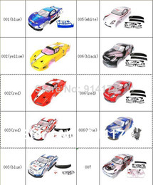 Wholesale Wholesale Body Shell Rc - 1 10 rc car body shell for 1:10 R C racing car 190mm henglong hsp 2pcs lot free shipping