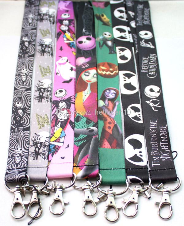2017 New A The Nightmare Before Christmas Lanyard/ Mp3/4 Cell ...