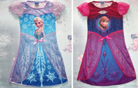 Frozen Dress Elsa & Anna Summer Dress For Girl 2014 New Hot ...