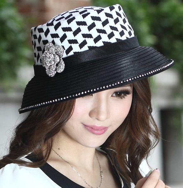 821aee28f Fashion Church Hat Women Dress Hatmillinery Chapeau Hat Ladies' 100%  Polyester Feather Bars Elagant New Young Girl Hearwear Newly Designed Baby  Sun ...