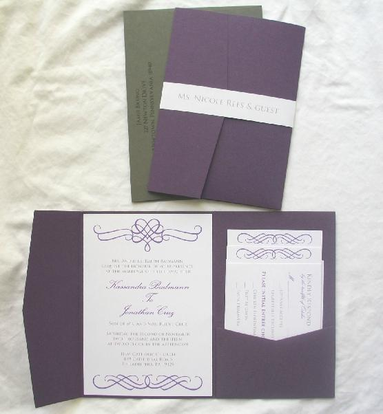 Free Printable Wedding Invitations Rsvp Cards Elegant Purple Pink – Wedding Invitations with Rsvp Cards
