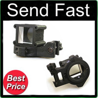 Wholesale Tactical Angle Sight - Tactical Angle Sight 360 Rotate for Red Dot Sight Rifle Black