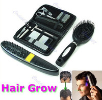 Wholesale Laser Hair Grow - Wholesale- New Laser Treatment Power Grow Comb Kit Stop Hair Loss Hot Regrow Therapy New