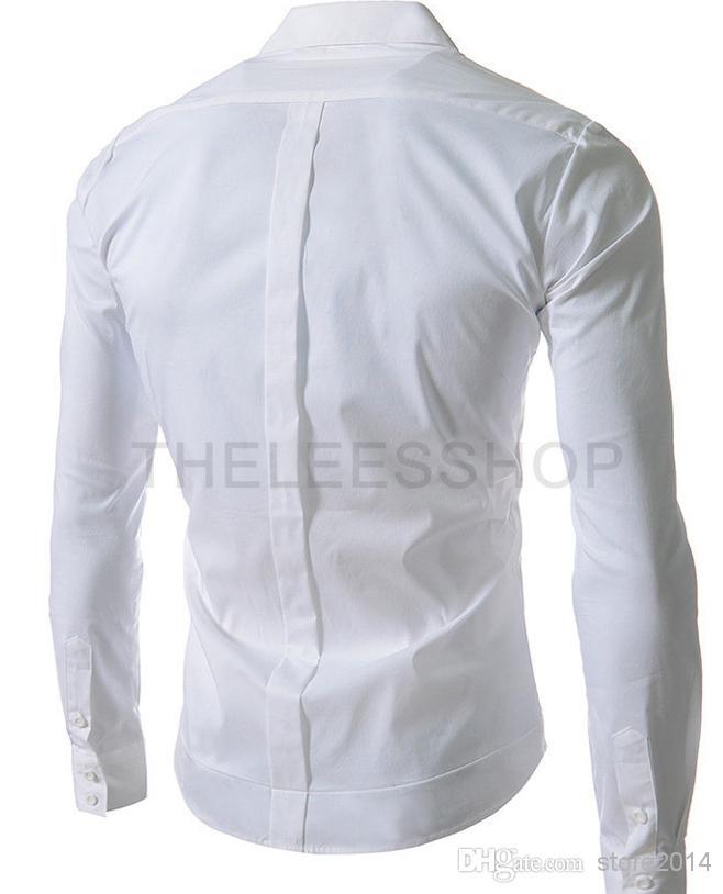 Camicia da uomo nuova Moda di lusso Camicia elegante casual Designer Shirt Muscle Fit i opzionali
