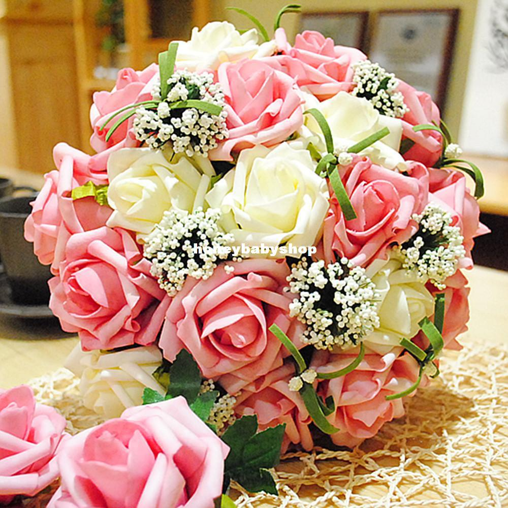 Standard 30 Super Beautiful Korean Bride Holding Flowers Wedding