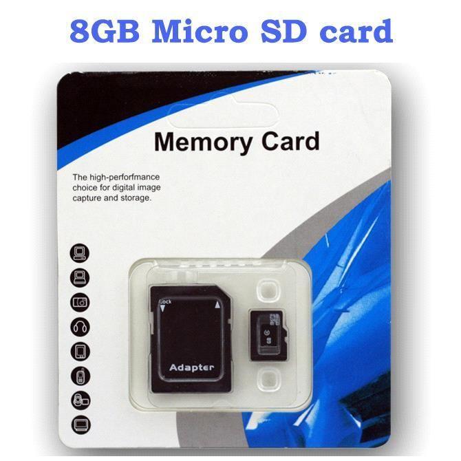 Wholesale DHL Genuine 8GB Micro SD Card TF Memory Card Class 10 8GB Flash Micro SDHC Cards MQ30 ...
