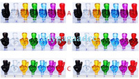 Wholesale Ego Ce5 Tips - Plastic Middle Finger 510 Drip Tips colorful wide mouth drip tips Fit EGO CE4 CE5 CE6 Atomizers Electronic Cigarette Plastic Drip Tips