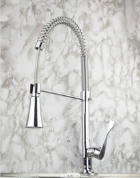 Wholesale Sink Spray Taps - LED faucet Kitchen & Kitchen Basin Sink Pull Out Spray Mixer Tap DH-461