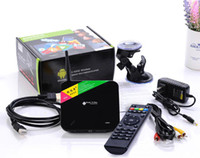 Wholesale Rk3188 Webcam - [Build-in 2.0MP webcam Microphone] CS968 Quad Core RK3188 Android 4.4.2 Bluetooth4.0 RJ45 TV Box 2GB RAM 8GB+Remote Control