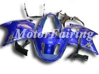 Wholesale 1997 Honda Cbr Fairings - Injection Fairings for CBR1100XX 96-05 CBR1100 1996 1997 1998 1999 2000 2001 2002 2003 2004 2005 CBR 1100XX 1996-2005 Free Gifts Blue