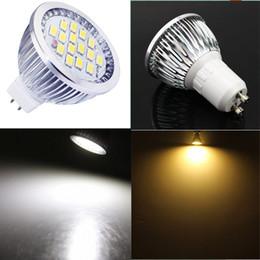 Wholesale Mr16 Led Bulbs 5w - New Led Bulbs Spotlight High Brightness GU10 GU5.3 MR16 E14 Bulbs 7W Led Spotlight Lamp 600-700LM 15 SMD 5630 Warm White White Led Down Bulb