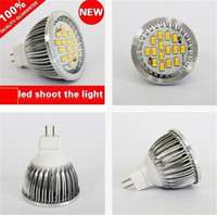 Wholesale Mr16 Led 7w 12v - 7W GU10 Led Bulbs LED Light 120 Angle 700 Lumens Warm white White GU10 E14 MR16 GU5.3 LED Bulbs SMD 5630 Led Spotlights Lamp 12V 85-265V New