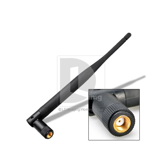 New Cheap 5dBi RP-SMA 2.4G WiFi Booster Wireless Network Antenna For Router IP PC Camera 013968 Free Shipping