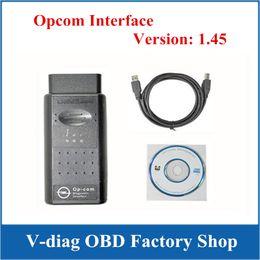 Wholesale Cable Coding - High Performance OBD2 Diagnostic Interface OP COM Cable OPCOM V1.45 --OBD