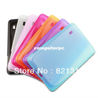 Wholesale Ipad Rubber Case Pink - Free shipping 9 inch Rubber Protective & Durable Silicon Tablet PC multicolor Case Cover At a loss sale