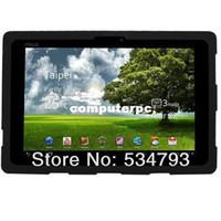 asus transformatör pedi tableti toptan satış-Asus Eee Pad Transformer TF101 10.1 '' Tablet için jel Silikon Kılıf Kapak, ücretsiz kargo