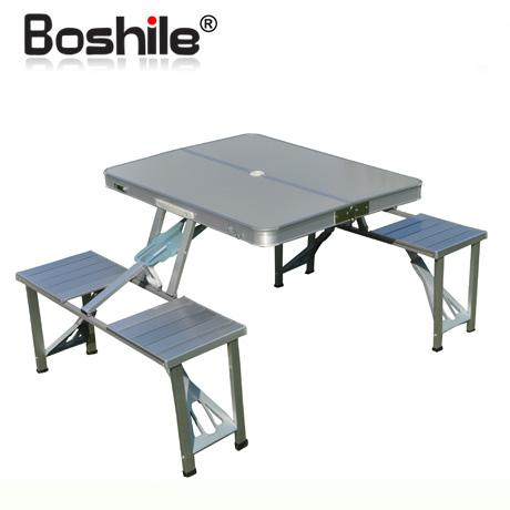 2018 Boshile Outdoor Folding Tables And Chairs Set Aluminum Alloy Folding Dining Table And Chairs Portable Picnic Table From Grenda288 $7638.2 | Dhgate.Com  sc 1 st  DHgate.com : deck table and chair sets - pezcame.com