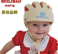 Wholesale Safety Cap Helmet - Baby Toddler Safety Helmet Headguard Children Hats Cap Harnesses Gift Adjustable Colorful