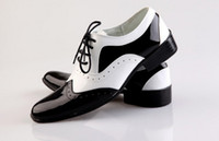 Wholesale business casual work shoes men for sale - Group buy NEW Black and White Groom shoes men leather shoes men s casual Business work shoes men s wedding groom shoes dress shoes SIZE
