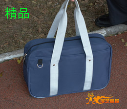 k cosplay Canada - Japanese School Bag Cosplay Accessory for Kuroko no Basuke K-ON Cosplay School Bags Free Shipping