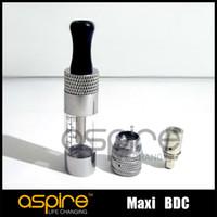 Wholesale Ego Maxi - Wholesale-original Aspire MAXI BDC Atomizer ego Atomizer Bottom Dual Coil vaporizer pure taste hot selling DHL Free