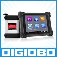 Wholesale Bluetooth Ecu - 100% Original AUTEL MaxiSYS Pro MS908P AUTEL MaxiDas Maxisys pro   DS708 Diagnostic System with WiFi for programming ecu+