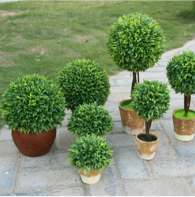Idyllic Decorative Potted Plants Artificial Fake Grass Ball For Home Living  Room Ornaments Garden Decoration Novelty Gifts For Her Novelty Gifts For  Kids ...