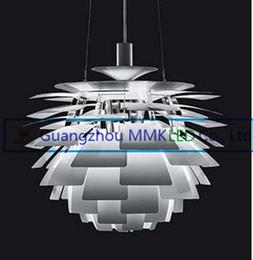 Artichaut de lampe en Ligne-40CM Poul Henningsen PH Suspension Artichoke Plafonnier