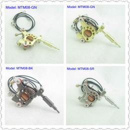 Wholesale Tattoo Machine Ornament - Mini Toy Tattoo machine Gun With Chain As Pendant Ornament Supply MTM08#