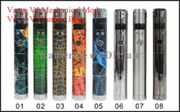 Wholesale Electronic Cigarette Battery Vamo - Vamo V5 Mechanical Mod V5 Battery Body Variable Voltage Mod for Electronic Cigarette E Cigarette Cig LCD Display Colorful Mod Instock