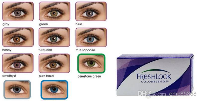 New Style Eye Contact Lenses Freshlook Lenses High Quality ...