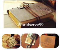 Wholesale Retro Vintage PU Leather Notebook Diary String Key Journal Sketchbook Classic Travel Diaries Colors