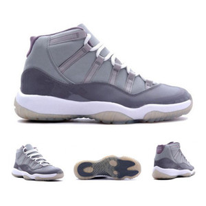 Wholesale unisex authorized Men XI basketball shoes Concords athletic genuine Sport sneakers bred gym red win like