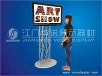 Wholesale High quality portable TV Stand truss display Pop up for trade show display