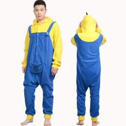 Wholesale Despicable Pyjamas - New Character Flannel Unisex Adult Pajamas Kigurumi Cosplay Costumes Animal Onesie Sleepwear Dress Jumpsuit Pyjama Despicable Me