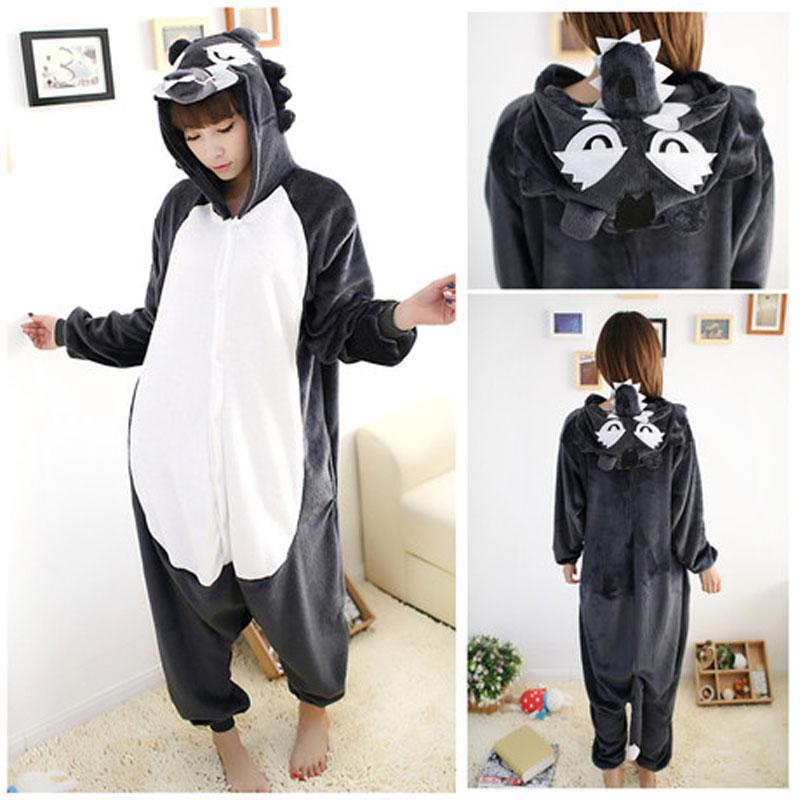 0f8d0a3e224d 2019 Timber Wolf Onesie Zoo Farm Animal Adult Onesies Costume Jungle Book  Fancy Dress Outfit Coral Fleece Kigurumi For Adults Kiguru From Lin233