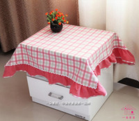 Wholesale Home Deco Bedstand Cover Night Table Cloth x90cm