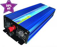 Wholesale Ac Wave - 6000W Peak 3000W Pure Sine Wave Inverter for Off Grid Solar System DC 12V 24V 48V to AC 110V 220V