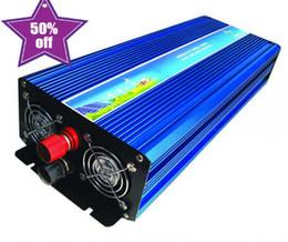 Wholesale Dc 48v - 6000W Peak 3000W Pure Sine Wave Inverter for Off Grid Solar System DC 12V 24V 48V to AC 110V 220V