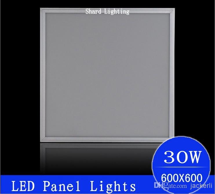 Toptan 30 W Kaldırma Led Panel 600 600 Panel Işıkları 60x60 cm Panel Lambası aydınlatma Led Diver DHL Tarafından Ücretsiz Nakliye Geçi ...