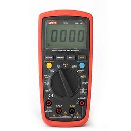 $enCountryForm.capitalKeyWord UK - Fcarobd 1pc UT139C AC DC voltage tester UNI-T UT-139C Auto Range Digital Multimeter UT139C UNI-T True RMS Digital Multimeter tester